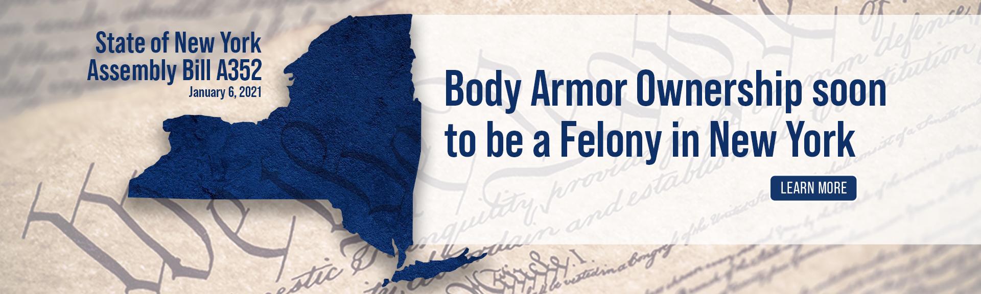 NY Body Armor Ban