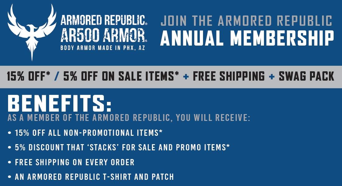 Armored Republic Annual Membership