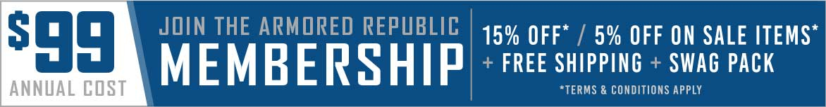armored republic membership banner